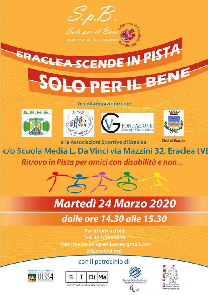 ERACLEA SCENDE IN PISTA 24.03.20